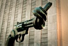Photo of Disarmament-the key to world peace.