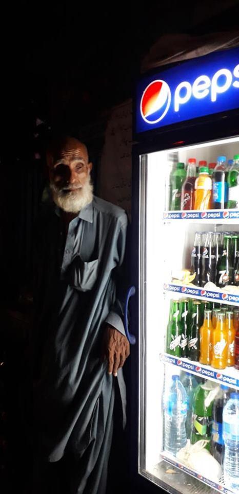 Hardworking Blind Man Lost Eyes In Bomb Blast