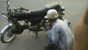 Islamabad Pakistan Old Hardworking Man