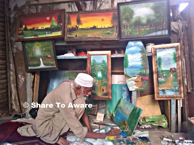 Talented Street Artist