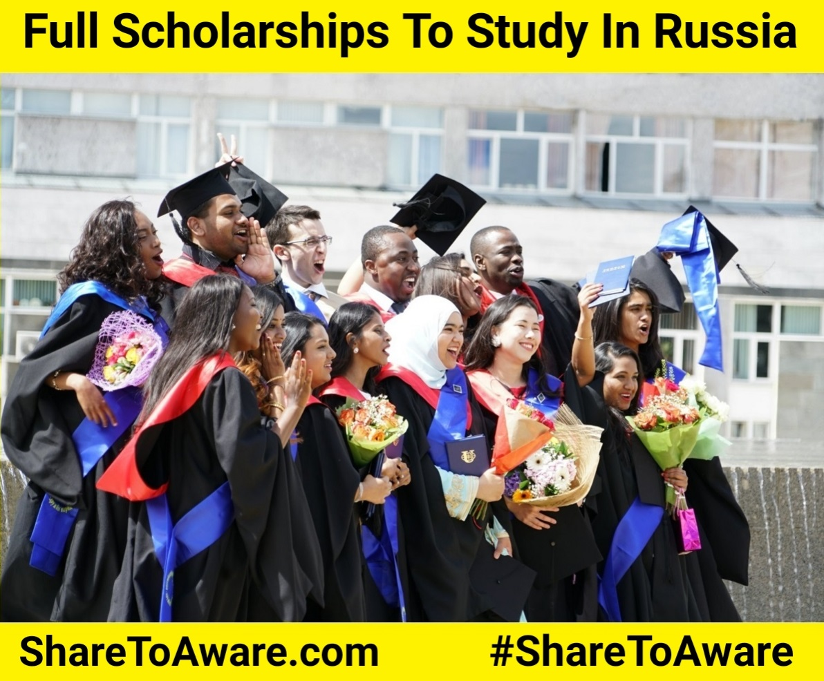 Russian Government Scholarship 2020 (Full Scholarship) Share To Aware